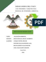 proyecto educativo ambiental