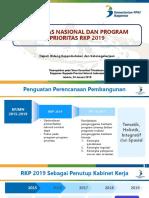 Draft Konsultasi Bappeda - Konsep Akhir Prioritas Pembangunan RKP 2019 24012018 744