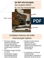 Manejo Microscopìo