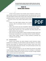 6. Bab Vi Rencana Kerja