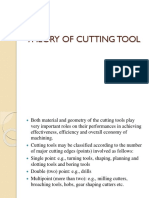 Theory of Cutting Tool1