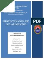Practica 1 - Biotecnologia