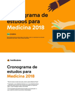 Cronogramas medicina