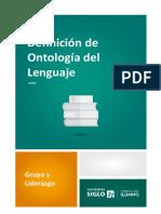 2. Definición de Ontología del Lenguaje.pdf