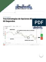 Tres Estrategias de Opciones Binarias Para 60 Segundos (1)