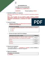Informe de Fin de Asignatura 201820