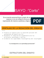 """El Ensayo -""""Corto"""""""