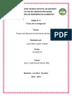 Tiempos de Documentos