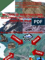 C 01 METODOS DE INVESTIGACION GEOLOGICA GEOTECNICA.ppt