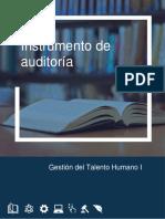 INSTRUMENTO AUDITORÍA - Proyecto