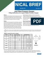 WIKA Tech Bulletin Liquid Filled Pressure Gauges 17196