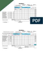 Alviola Payroll 25 to 31 Aug 2018