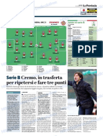 La Provincia Di Cremona 14-12-2018 - Serie B