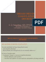 34 Drugs Used in Coagulation and Bleeding Disorders