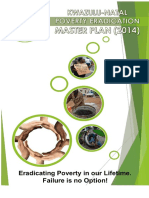 Poverty Eradication Master Plan