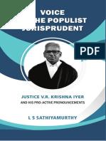 VOICE OF THE POPULIST JURISPRUDENT[L.S.SATHYAMURTHY ]