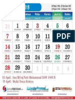 kalender 2019 - 04