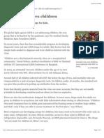 AIDS Care Ignores Children