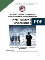 Guia 2018 de Investigación de Operaciones.