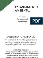 SANEAMIENTO AMBIENTAL