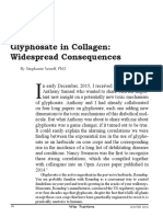 Glyphosate in Collagen - Widespread Consequences