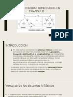 Redes Trifasicas Conectados en Triangulo