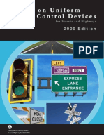Manual on Uniform Traffic Control Devices