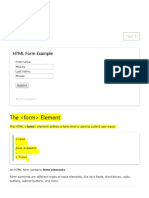 2 HTML Forms