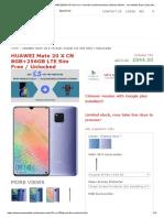 Buy HUAWEI Mate 20 X CN 8GB+256GB LTE Sim Free _ Unlock