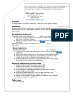 resume feedback cover