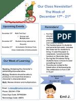 class newsletter 3  edte 301