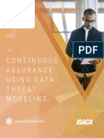 Continuous Assurance Using Data Threat Modeling Res Eng 0618