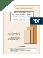 Mortgage backed securitization for PH housing market.pdf