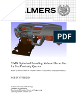 SIMD for BVH volumes