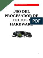 Uso del procesador de textos y hardware - Pelayo Ruiz