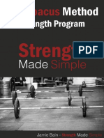 Strength Made Simple the Abacus Method