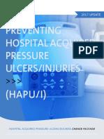 Hospital Acquired Pressure Ulcers Injuries Hapu Change Package