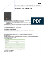 How to use Excel date values - Guide to Date, time functions.pdf