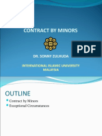 Contract 1_Contract by Minors