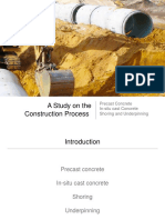 A study on construction process