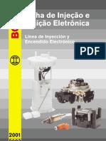Injeção Eletrônica e Ignição - Catálogo BOSCH 2001.pdf