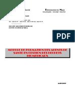 Module de Formation Des Agents de Santé  en Gestion Déchets Bio Médicaux  au Mali