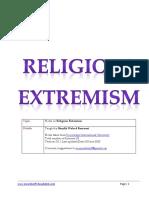Saheefa Religious Extremism V2.0