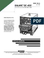 DC400 Service Manual