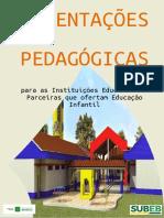 SEDF Orientações Pedagógicas para Instituições Educacionais Parceiras que ofertam Educação Infantil