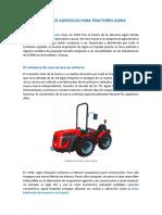 Repuestos agrícolas Agria
