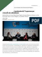 Las Mujeres en La Constitución Del 78 Apuestan Por Retocarla Sin Radicalismos _ España _ EL PAÍS