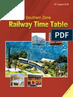 Southern Railway Time Table Pdf