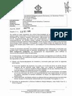 Auto de Indagación Preliminar a Funcionarios de La Superintendencia de Industria y Comercio