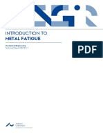 Introduction to Metal Fatigue 1st Ed 2018